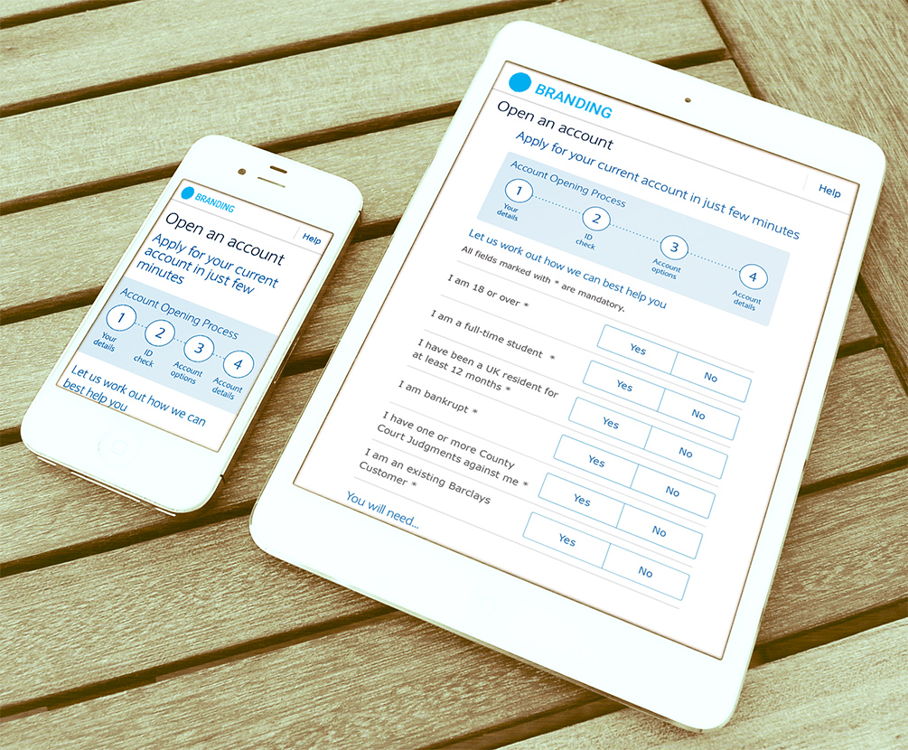 Image of Mobile and iPad Responsive Form Designs