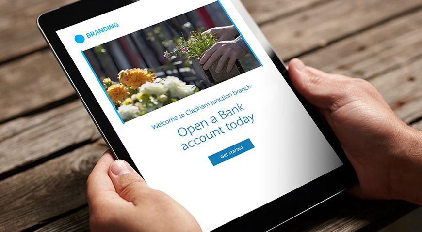 iPad In-Branch Account Opening User Experience