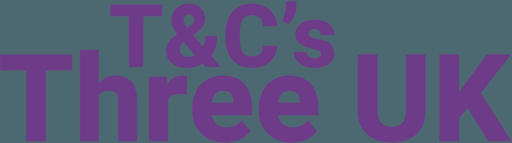 T&Cs – ThreeUK